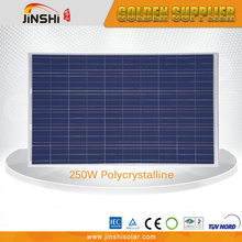 High Efficiency Competitive Price 250wp Poly PV Solar Module