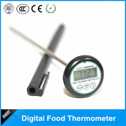 Eco-Friendly CE, ROHS LCD digital cooking temperatures for food cook meat thermometer