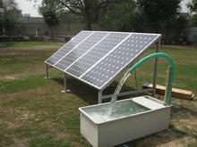 1.5KW solar submersible water pump + 2.2KW solar pump controller & inverter + 2040W PV solar panel module