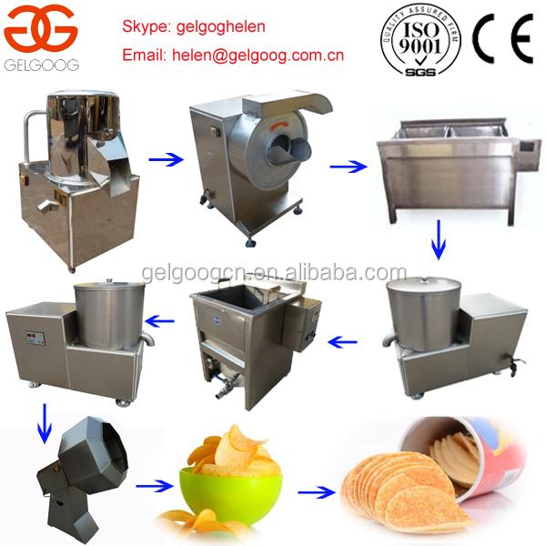 potato chip making machine