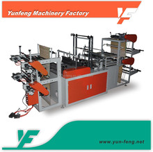 YF-R500-600 Manufacturing Computer control rolling plastic garbage bag bag making machine