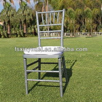 China factory metal wedding used chair for sales