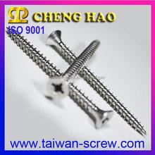 M4.5x60 Pozi Drive Double Flat Head Chipboard stainless steel fastener