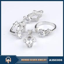 Venta caliente todo tipo de 925 joyería de plata esterlina