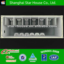 flat pack container living house /toilet container/accommodation container ,toilet container,toilet container