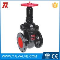 Cast iron metal seat slide gate valve toyo gate valve ce cer valve