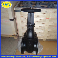 wartsila spare parts casting gate valve dn200 with new spark price from china manufacturer