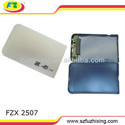 "2.5"" IDE Hard Drive Disk External Silver Case Enclosure Box USB 2.0 Laptop PC"