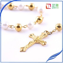 gold jewelry rosary necklace