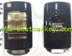 For new hyundai ix35 price 3 buttons car remote key without ID46 chip for hyundai ix35 key