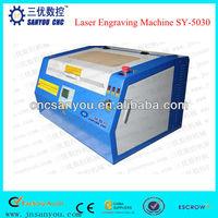 Wood Pen Laser Engraving Machine SY-5030