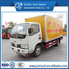 Dongfeng 4X2 12CBM anti explosive van box truck for dangerous goods transportation