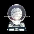 K9 grado superior trofeo de golf de cristal óptico