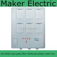 Model:NX-SWD6 Customizable hdpe plastic meter box
