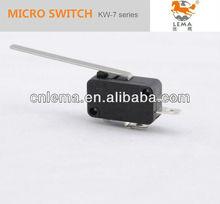 largo pernos de palanca de contacto pin micro interruptor amp 8 plata de no contacto nc de acción rápida microinterruptor