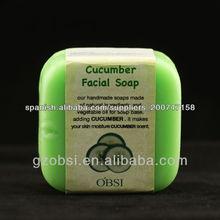 ¡Nuevo! hidratante y anti-acné jabón hecho a mano del pepino