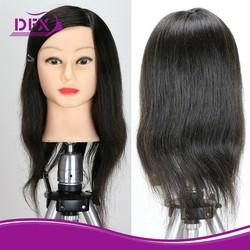 salon beauty equipment female makeup mannequin head /manikin head with hair/hairdressing training doll heads