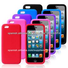 silicona caso para iphone 5c