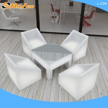 Supply all kinds of image LED chair,plastic tall outdoor LED chair