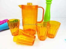 jug, pitcher, plastic jug, plastic pitcher acrylic Plastic Pitcher with set