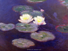 Monet Impression water lily oil paintings