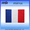 Cheap Custom polyester blue white red flag ,france flag for 2016 Euro Cup