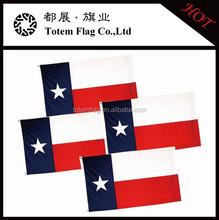100% Polyester Printing Fabric Texas Flag