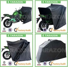 China Made High Quality CNC Machined Motorcycle Outdoor Storage Tent