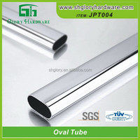 Classical special flat sided oval tube