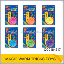Funny 22cm magic worm tricks toy OC0184217