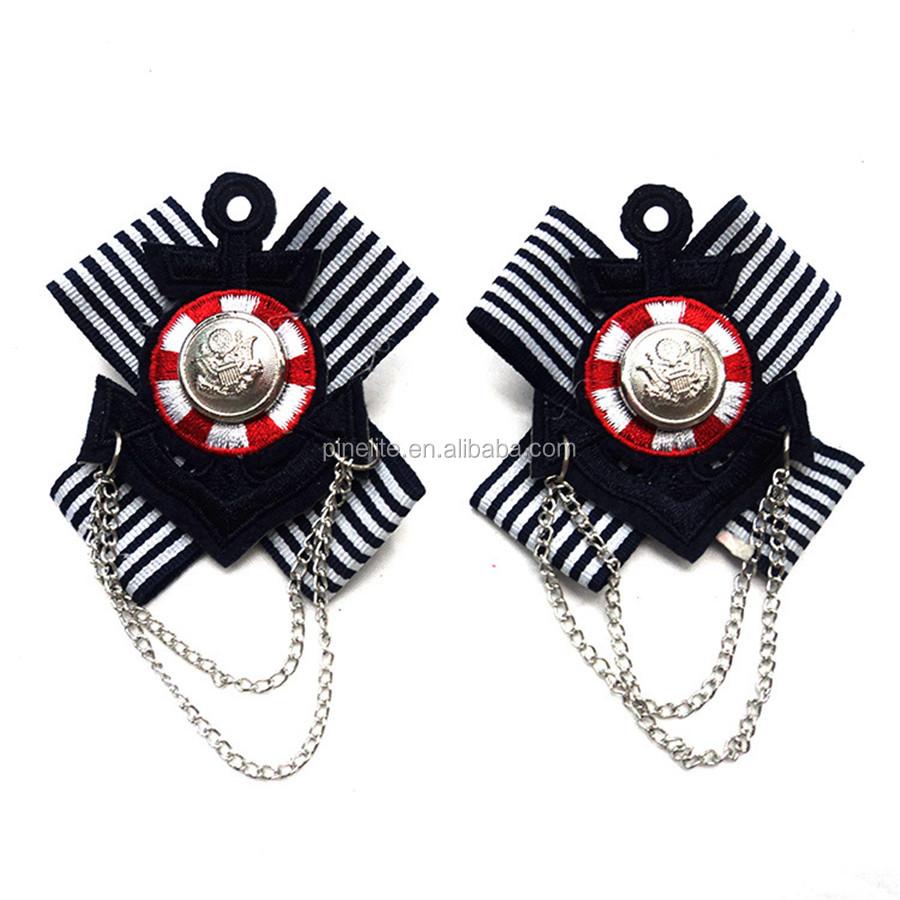 Cheap free design animal shape embroidery badge,custom badges with jewel.jpg