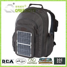 solar power backpack charging bag for laptop and mobile phones