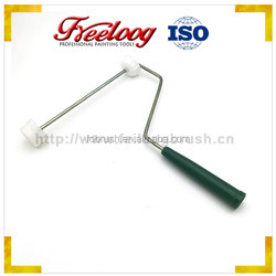 """Buy wholesale direct from light polypropylene cover 9"""" metal ring plastic handle paint brush"""
