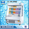Small upright commercial vegetable refrigerator for convenience store