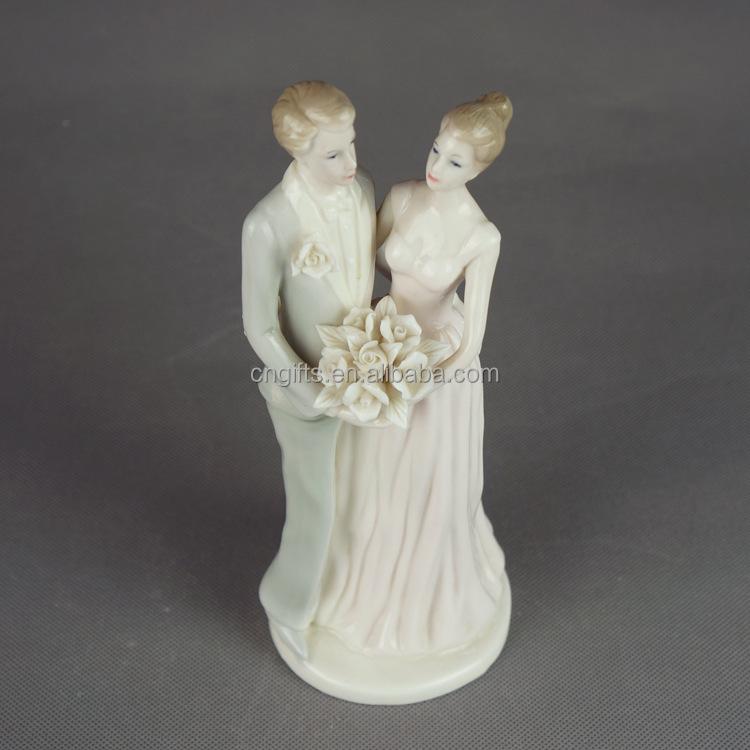 Ceramic Bride And Groom Figurine Bride Groom Ceramic Bride