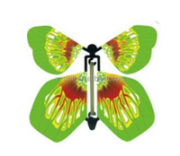 New butterfly shape invitation card/magic flying butterfly card
