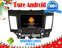 Pure Android 4.2 car multimedia for MITSUBISHI Lancer (2007-2012) RDS,Telephone book,AUX IN,GPS,WIFI,3G,Built-in wifi dongle