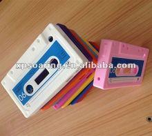 Cassette silicon cover case for Blackberry curve 8520 9300