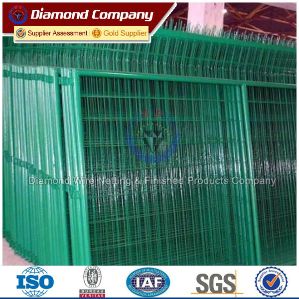 Yard security fence iron plastic fencing view