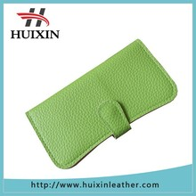 Factory new fashion jelly color leather material lady clutch wallet