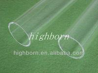 Transparent quartz glass test tube for experiment
