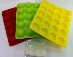 2015 New Design Origin Manufacturer of China Silicon Candy Molds