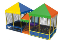 Top quality cheap kids roof trampoline for sale