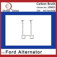Ford carbon brush for alternator (brush size: 4*7.5*12*38)