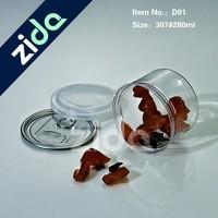 Food use 6 OZ plastic spice jar wholesale
