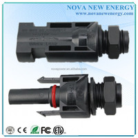 mc4 male and female electrical connector solar panel connector