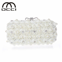 new latest clutch plate wholesale china ladies clutch bag with lace and beaded clutch bag ES421