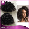 Bebe/Baby curls short Brazilian hair cheap 100% human hair extensions #1#1B #2 #4#30cheap hair weft 50g/pc