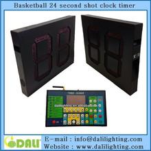 LED electronic outdoor basketball shot clock