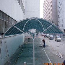 High quality polycarbonate roof door canopy with aluminium frame